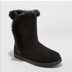 Cat & Jack Hadley Microsuede Fashion Boots